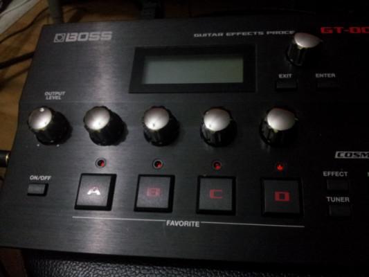 Boss GT-001 con facilidades de reamp con patchs glenn delaune