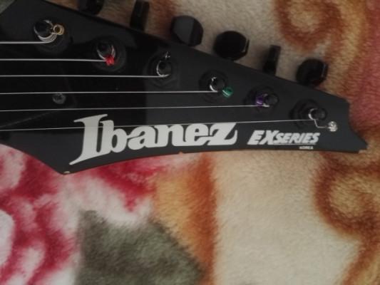 Ibanez EXseries koreana del 91.y ampli sinmarc 4050...