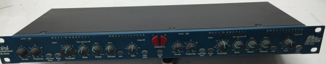 Compressor de-esser BSS Dpr 422