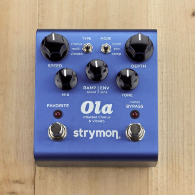 Strymon Ola Chorus/Vibrato (Cambios en la descripción.)