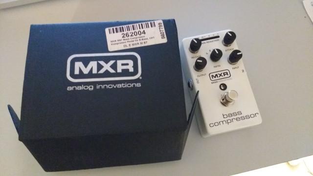 MXR 87 Bass Compressor