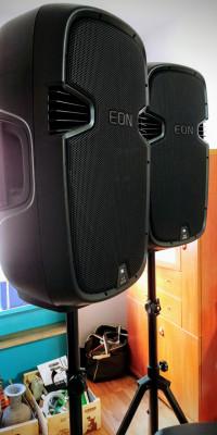 JBL EON 515XT COLUMNAS AMPLIFICADAS