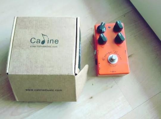 Pedal de guitarra Caline Orange Burst. OD CP18