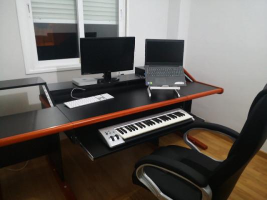 Mueble Estudio Grabación y Producción