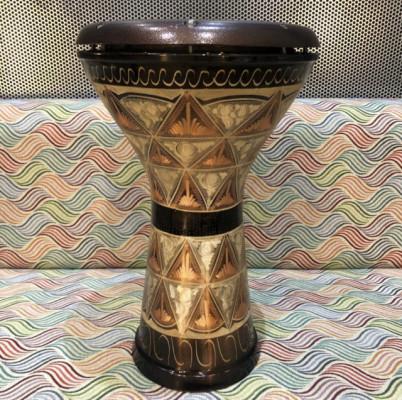 Darbuka egipcia Meinl de cobre.