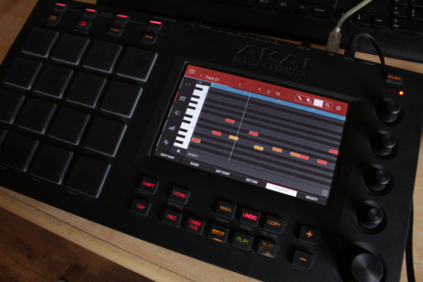 Vendo Akai  mpc touch