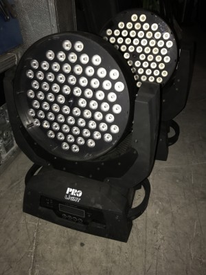 Cabezas led 72x3 pro light