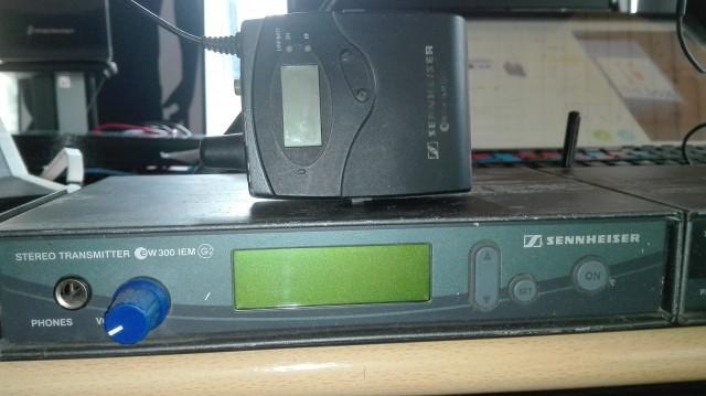 Sennheiser EW 300 IEM G2 y G1