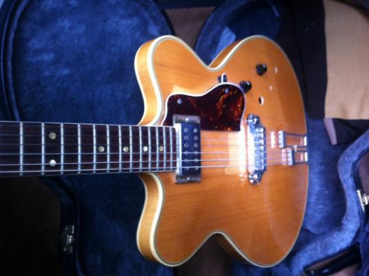 Guitarra HOFNER VERYTHIN T6S ( vintage-1980 Semihollow )
