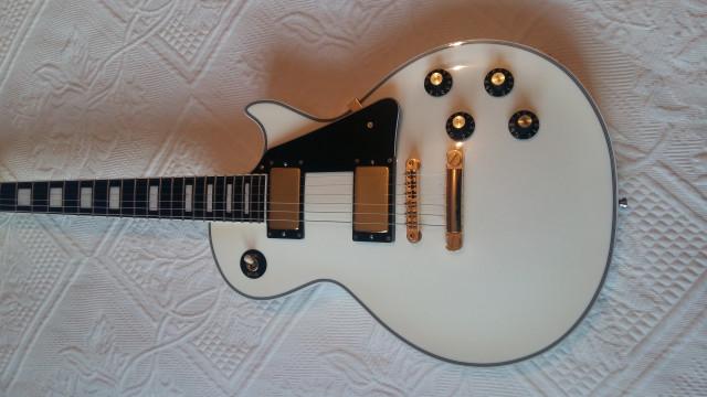 Edwards lp Custom White