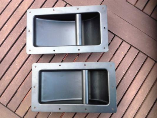 Asas metálicas para pantallas o combos estilo Marshall años 60 / primeros 70