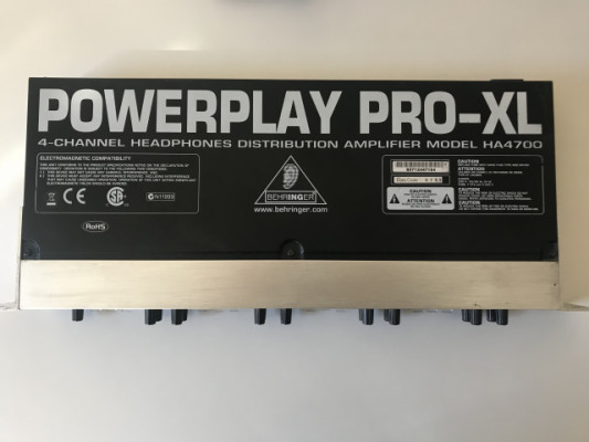 Behringer Power play pro XL HA4700