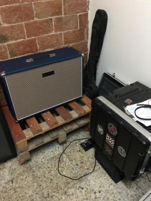 Laney IRT-Studio 15w a válvulas + Pantalla Subzero 2x12 + Rack 6U