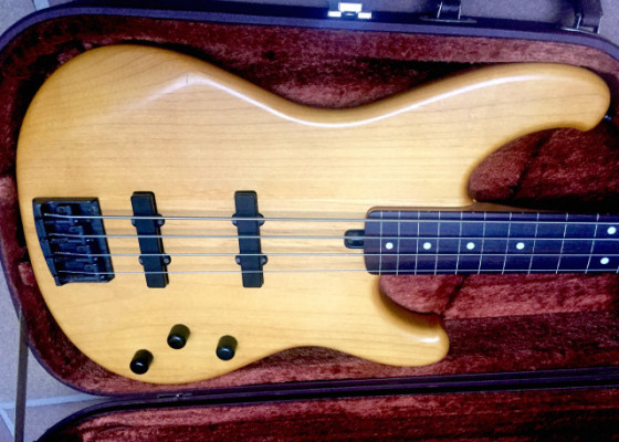 1985 Ibanez Jazz Bass FRETLESS Bass made in Japan