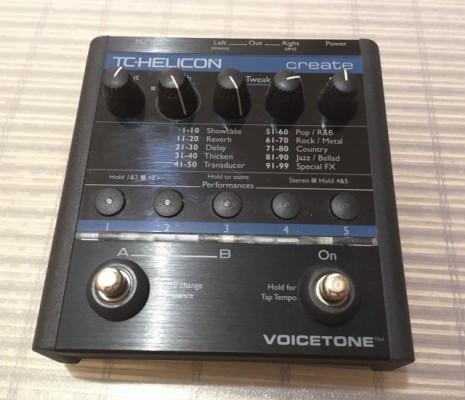 TC Helicon Voice Tone Create