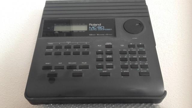 SEQUENCIADOR MIDI  ROLAND MC-50