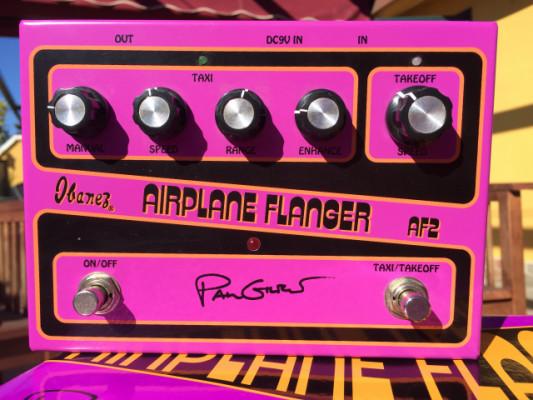Ibanez AF2 Airplane Flanger. Como nuevo. ¡Envío Incluido!