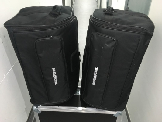 2 Mackie SRM 450 V3 y 2 The box MA8/2 CL