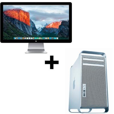 "Apple Mac Pro 5.1 Octa Core+Cinema Display 24"""