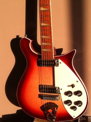 RICKENBACKER 620 6-string Fireglo!!!