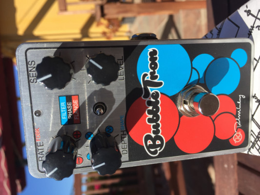 Keeley BubbleTron Dynamic Flanger-Phaser-Filter. ¡Envío Incluido!