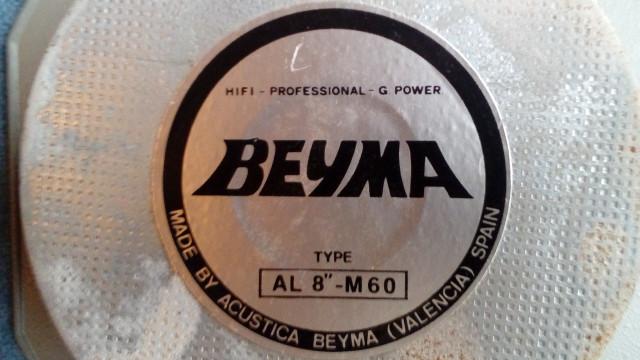 "Altavoz beyma 8"""