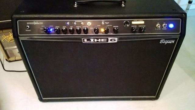 Line 6 Spider Valve 212 Bogner , a valvulas y con procesador de e