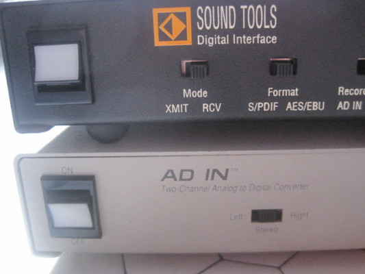 Interfaz y conversor A-D Digidesign Sound Tools