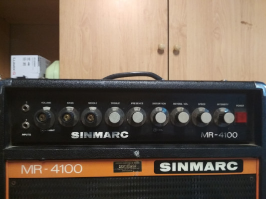 AMPLI SINMARC MR-4100