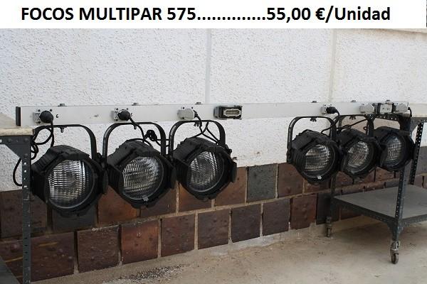 FOCOS MULTIPAR 575 600W