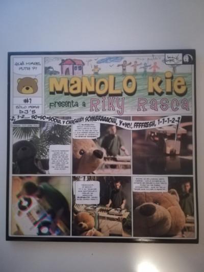 Vinilo hip hop rap Manolo Kie presenta Riky Rasca