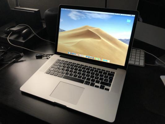 """MacBook Pro Retina 15"""" i7 2,2GHz (Mediados de 2015)"""