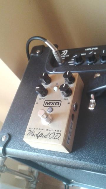 MXR Custom Badass Overdrive