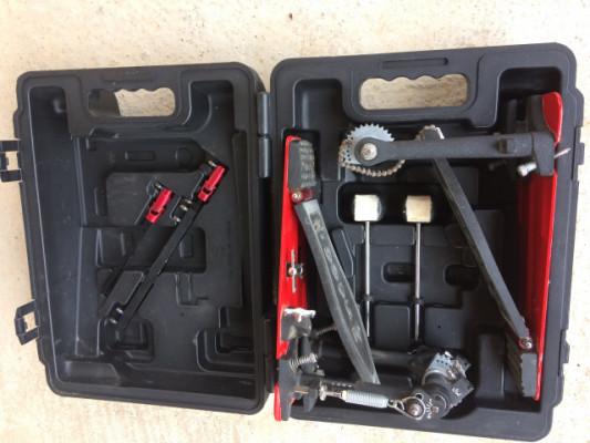 Doble pedal de bombo DW 5000