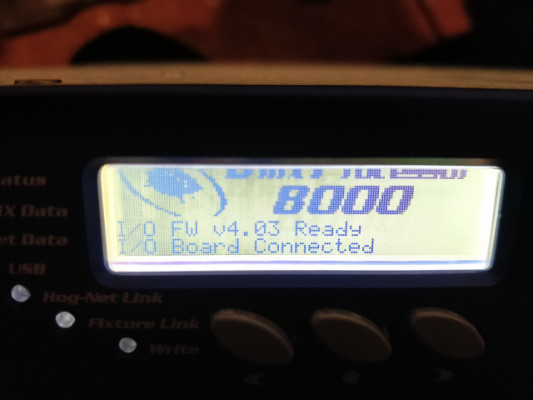 High End Systems DP 8000 DP8K HOG3 HOG4 Azul
