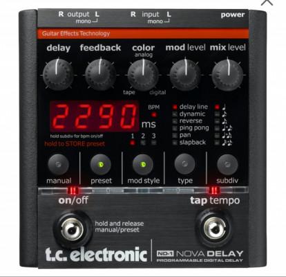 NOVA delay TC Electronics
