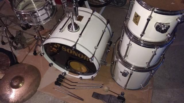 Set de Batería Completo Sonor 3000