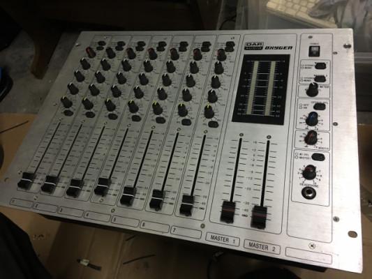 Mesa de mezclas de 7 canales  Dap audio oxygen
