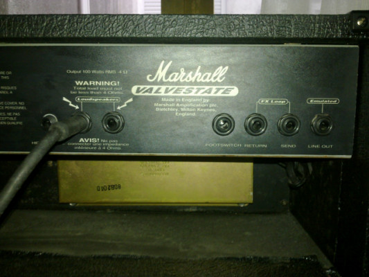 Cabezal Marshall VS100