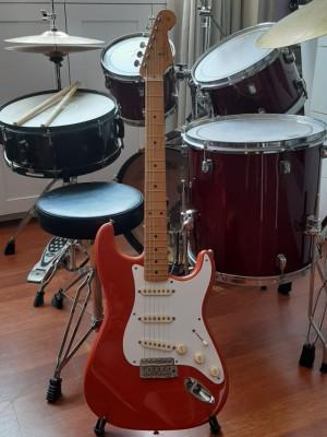 Fender Stratocaster Classic 50s Fiesta Red / RESERVADA