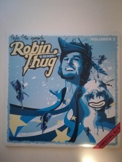 Vinilo hip hop rap Pablo Pila presenta Robin Thug 2