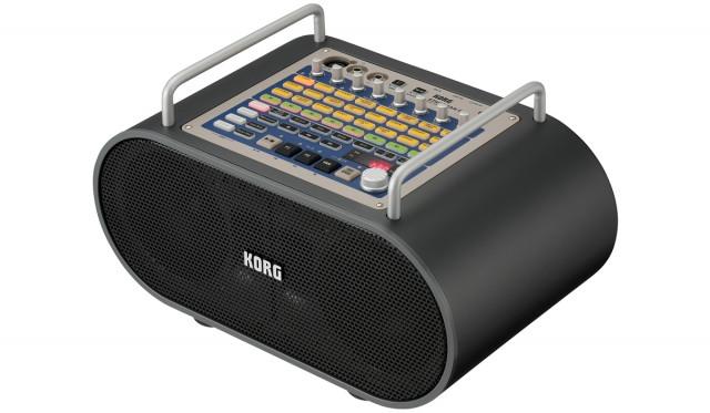 KORG STAGEMAN 80 (amplificador, grabadora y caja de ritmos) + LIBRERÍAS + PEDAL