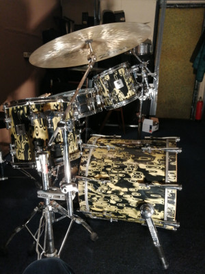 Bateria Sonor Maple Light Shell