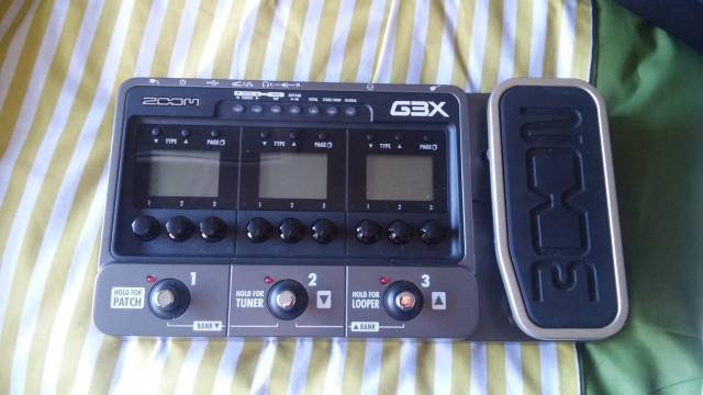 Vendo o cambio pedalera Zoom G3X nueva