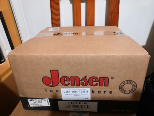 Jensen P10R F Vintage. NUEVO. Sin abrir.