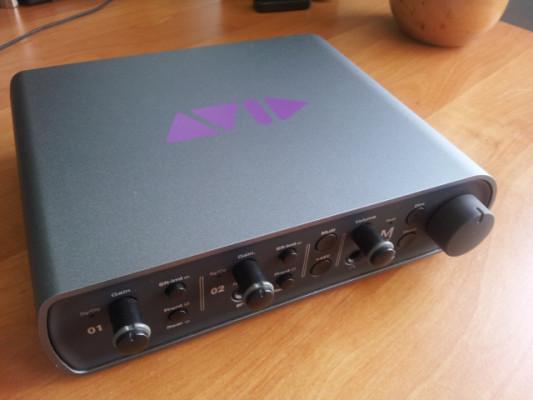 Interfaz audio AVID Mbox 3