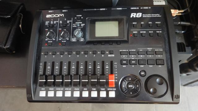 Grabador ZOOM R8