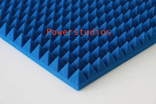 20 paneles akustik pyramid azul, Dale color a tu sala