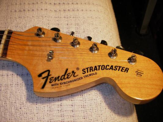 Compro mástil stratocaster 70's