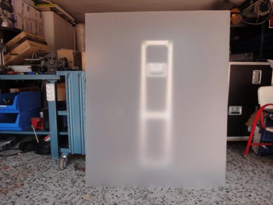 3 x Laminas retroprojeccion de video -  alta luminosidad